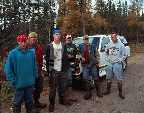 Black Spruce Cutters near Meadowlands, MN 2003, 2004