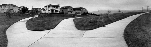 Sidewalks to Nowhere, Development outside of Denver, CO 1994