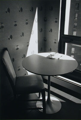 Kitchen Table in Sun, Chicago, 1997