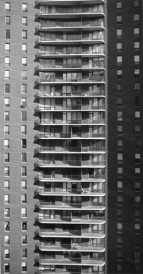Carlyle Balconies, Chicago, 1997