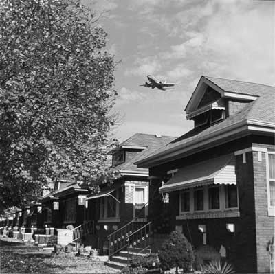Airplane with Bungalows, 1999