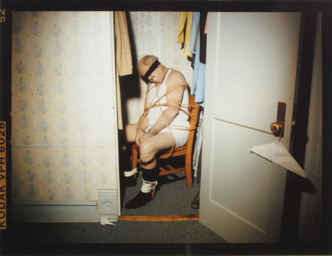 Man tied up in closet, 1995 for the movie Mad Dog and Glory