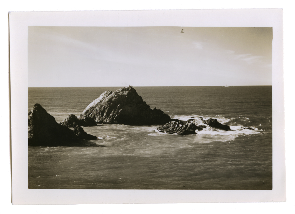 Found Photograph of Lands End, Date Unknown
