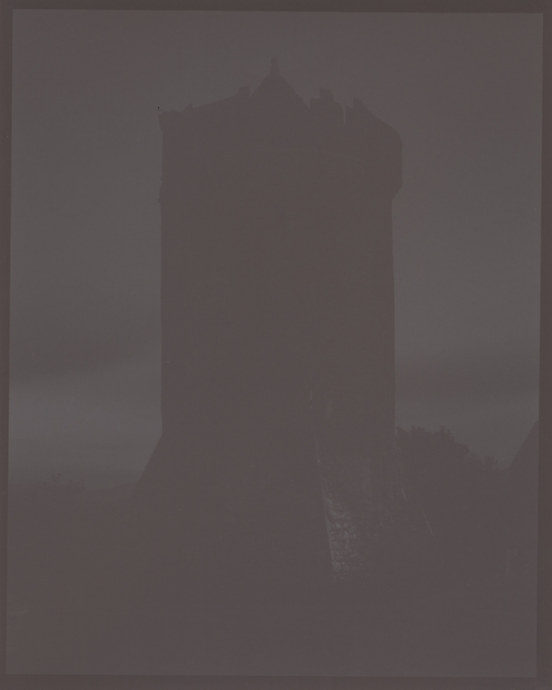 16th century tower at night, my Ireland, 2012