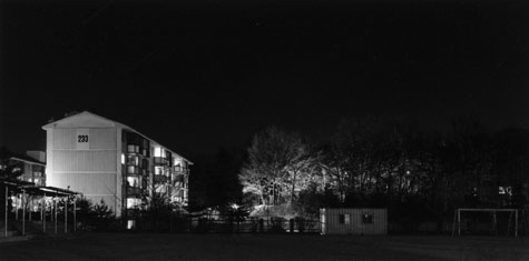 Panorama # 1, from the series Living Space of the Growing thing - Part II:Apartment, 1999