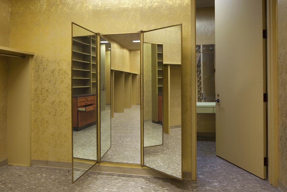 Gold with Mirrors: Floor 7 #6, 2013