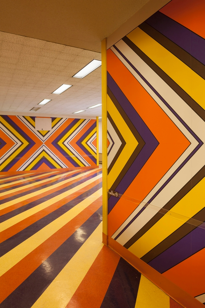 Striped Lunchroom: Floor 10 #5, 2013