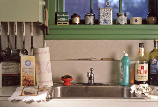 Kitchen Counter, July 2004
