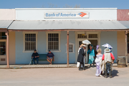 Bank of America, Tombstone, AZ, 2008