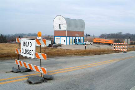 Road Closed, Milford, NE, 2006