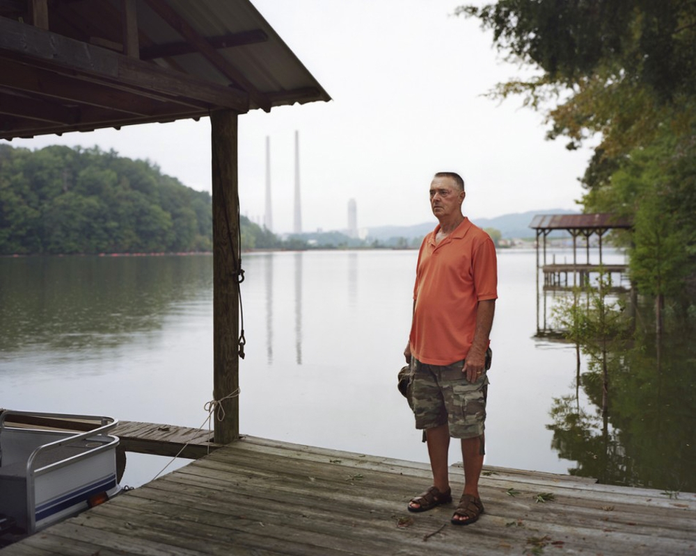 Glenn, whose home was purchased by the TVA after the Coal Ash Spill, 2009