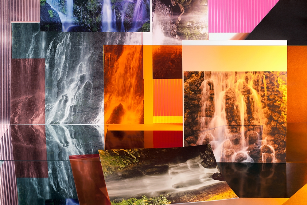 "Waterfalls 2.0, from the ""Landscape Sublime"" series, 2014"