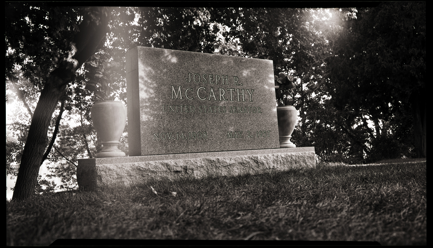 Joe McCarthy Grave, Appleton, WI, 2012