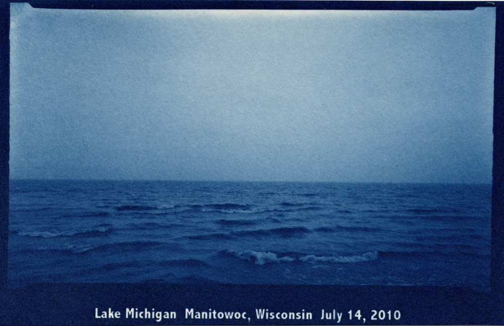 Lake Michigan, Manitowoc, Wisconsin, July 14, 2010