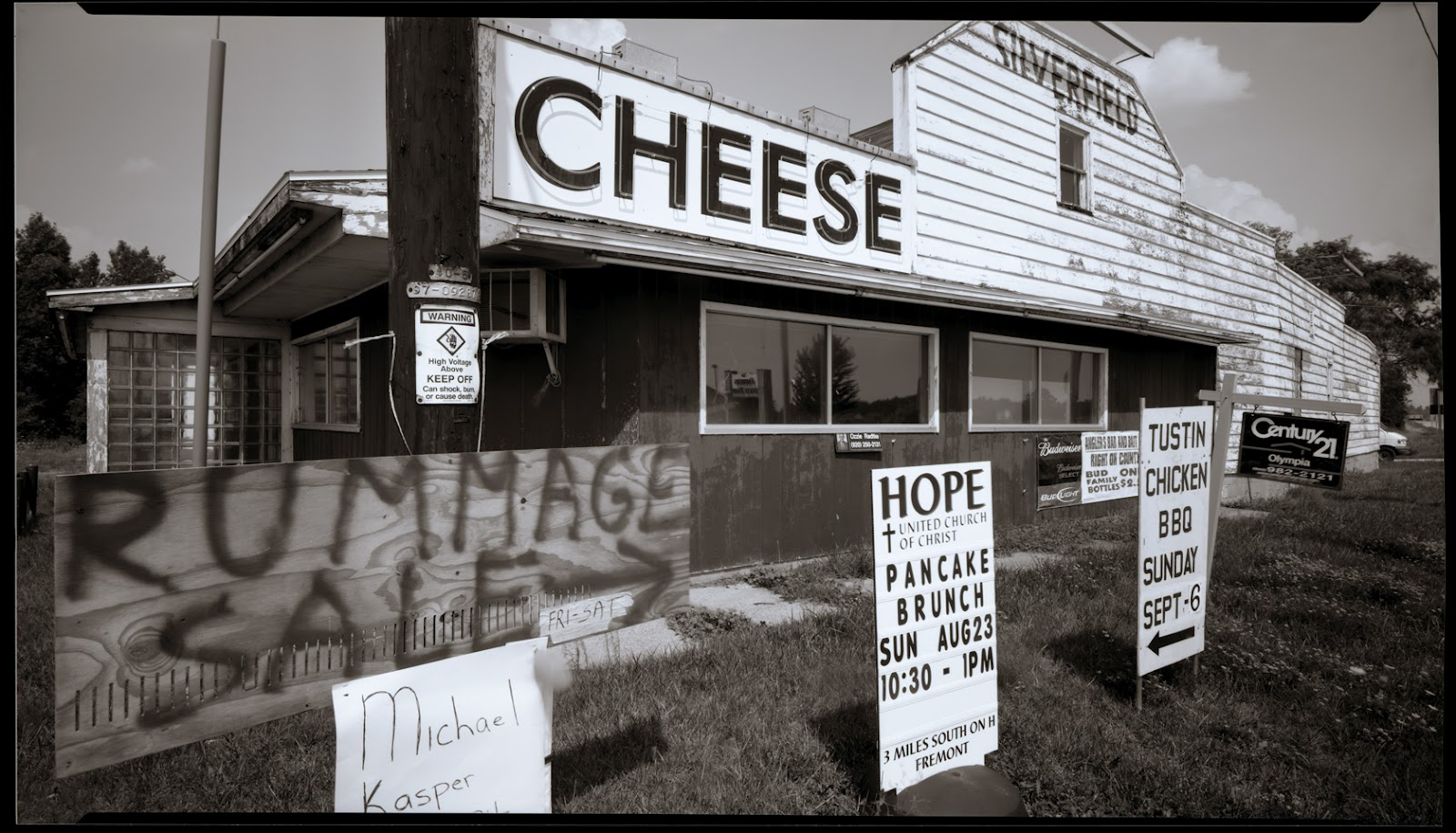 Silverfield Cheese Factory, Fremont, WI, 2009
