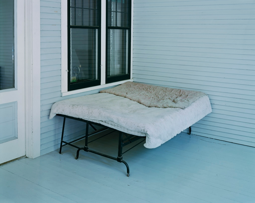 Charles Lindbergh's Boyhood Bed, Little Falls, MN, 1999