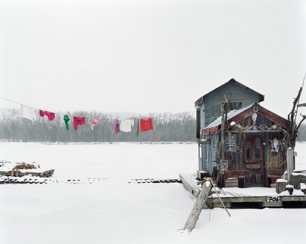 Peter's Houseboat, Winona, MN, 2002