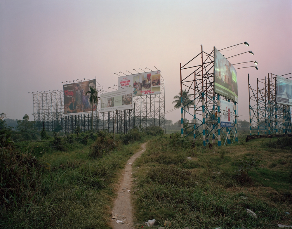 Billboards, EM Bypass, Calcutta, 2013