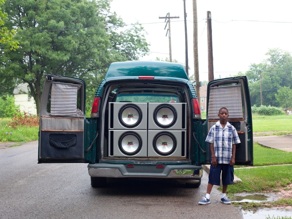 Ray Shawn and his uncle's van, 2011