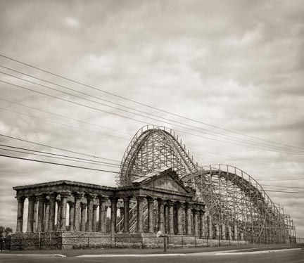 Coaster Ruins, from the Ruins series, 2007