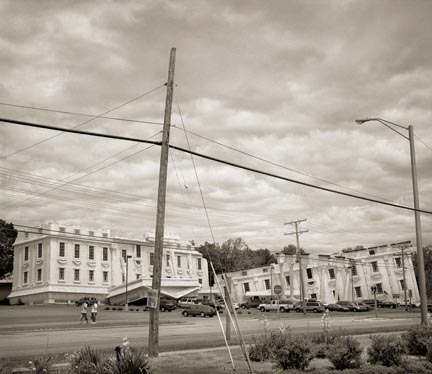 The White House, from the Ruins series, 2007