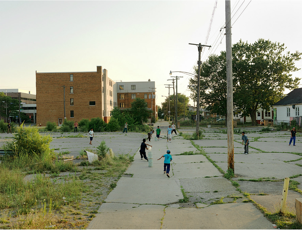 Cricket Game, Northeast Side, Detroit, 2010
