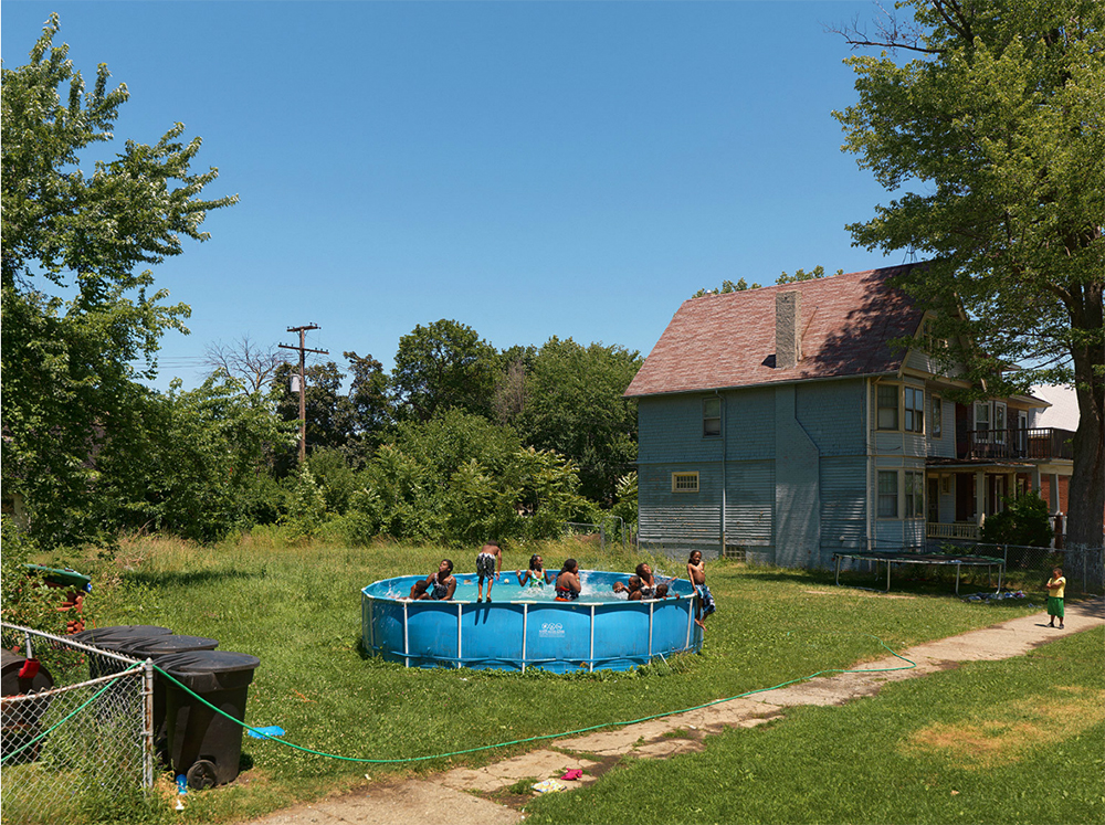 Neighborhood Swimming Pool, Westminster Street, Near Northside, 2010