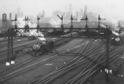 New Jersey Railroad Yard