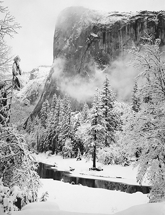 El Capitan, Winter, Yosemite National Park, California