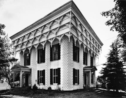 House with Wooden Stalactites Hanging from Successive Cornices, Georgetown, New York