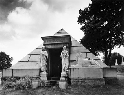 Van Ness-Parsons Pyramid, Green-Wood Cemetery, Brooklyn, New York