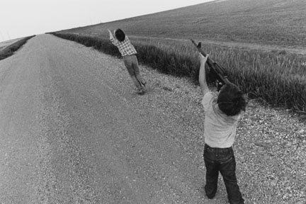 Shea Kids Playing, Hazelton, North Dakota, from the