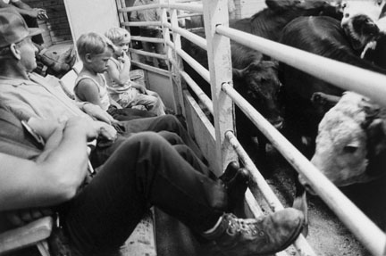 Kids, Auction Barn, Sleepyeye, Minnesota, from the