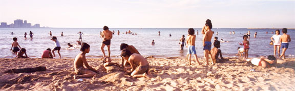 Montrose Beach, Chicago, from the Changing Chicago Project