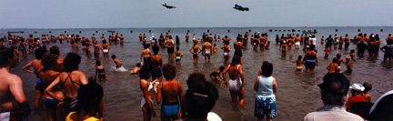 Air and Water Show, North Avenue Beach, Chicago