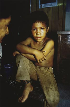 Boy Chained, Juarez, Mexico