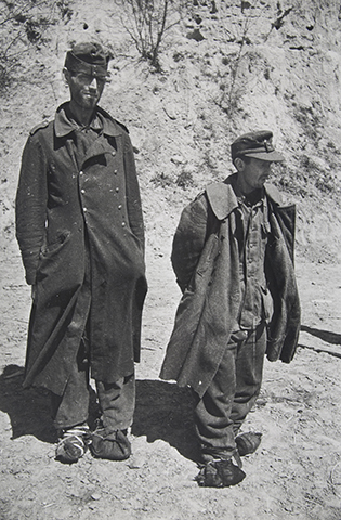 Two German POWs
