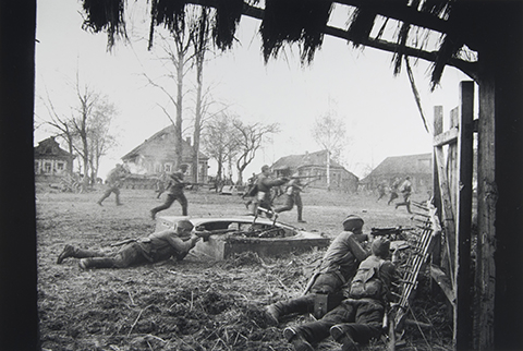 Battle for Kamenka Village, Near Moscow