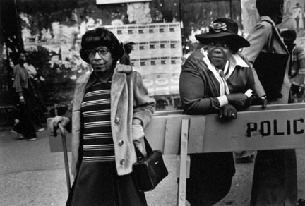 Two Women At A Parade, from the