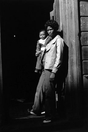 A Woman and Child In A Doorway, from the