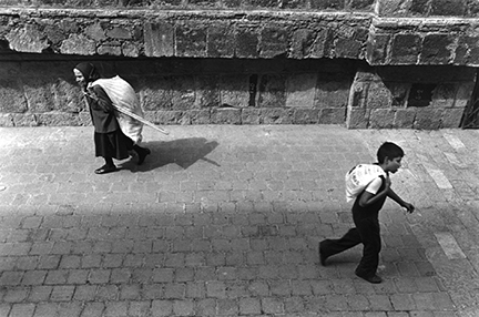 A Woman and a Boy, Mexico City, DF