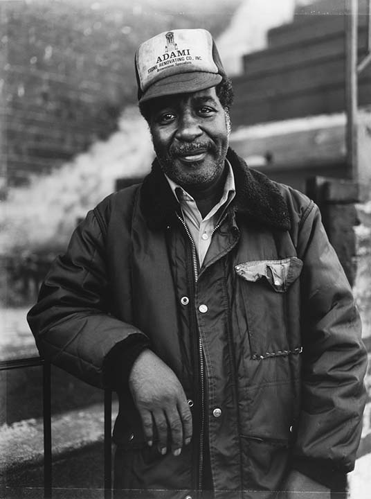 A Man Wearing an Adami Baseball Cap, Brooklyn, NY
