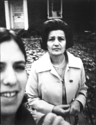 Untitled (self-portrait with mother)