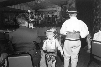 Boy with Cup, Polish Highlanders Festival, Polish Highlanders Lodge, South Archer Avenue, from Changing Chicago