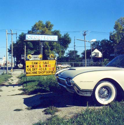 Ford Thunderbird, CA. 1960, from the Changing Chicago Project