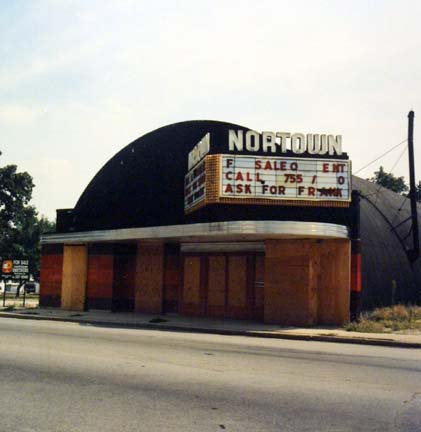 Nortown Theatre (Closed), from Changing Chicago