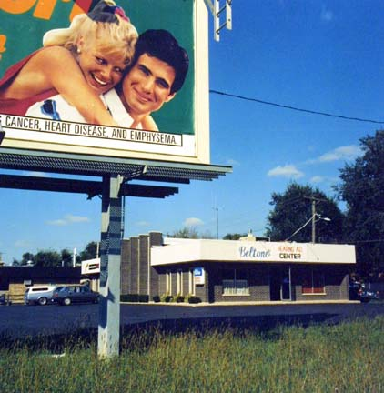Beltone Hearing Aid Center With Billboard, from Changing Chicago