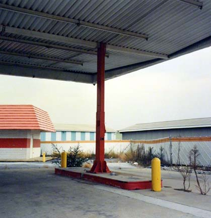 Closed Gas Station, from the Changing Chicago Project