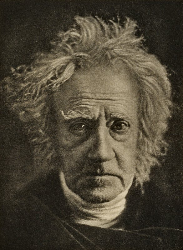 Sir John Herschel, from Camera Work, Issue No. 41