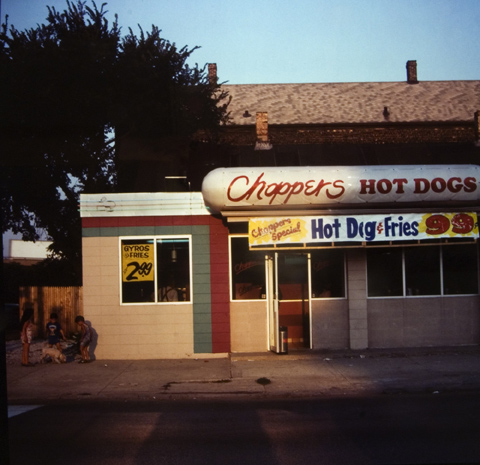 Chopper's, Ashland Ave., Chicago, from the
